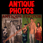 antique photos green screen