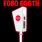 Fobo Photo Booth button