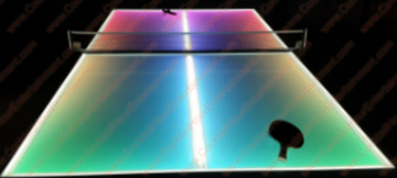LIGHTED LED PING PONG