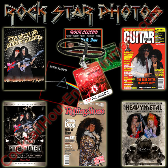 rock star photo package