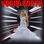 vogue booth button