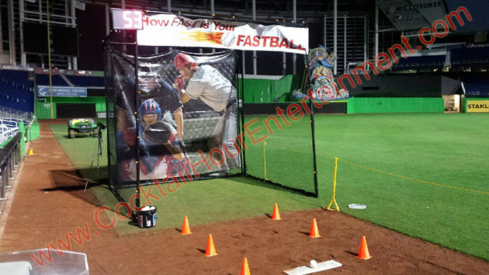 baseball speed cage miami
