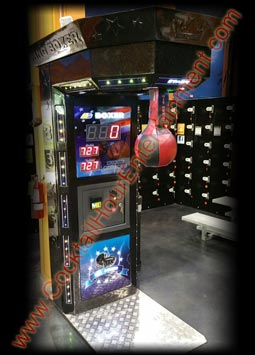 boxer boxing punching bag arcade game