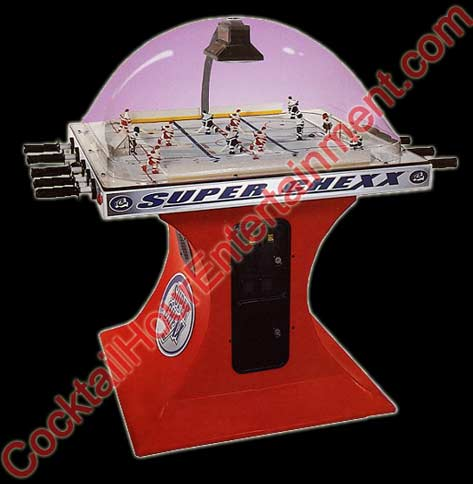 super chexx rod hockey party rental