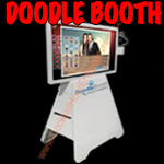 doodle photo booth button