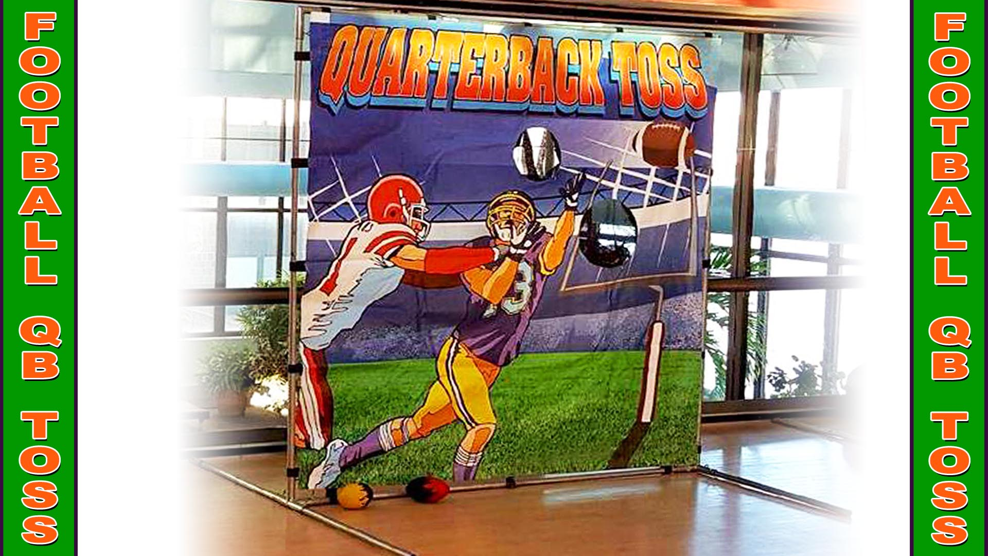 football qb toss carnival game
