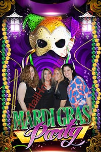 green screen photo mardi gras