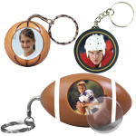 photo favor sports keychains