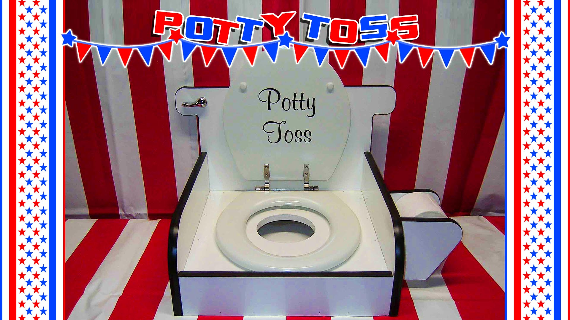 potty toss carnival game