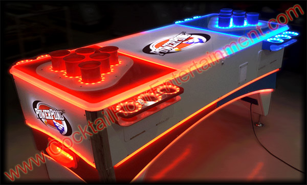 power pong led beer pong