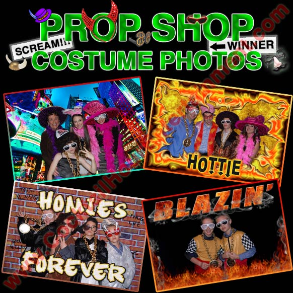 digital fun frame costume photo