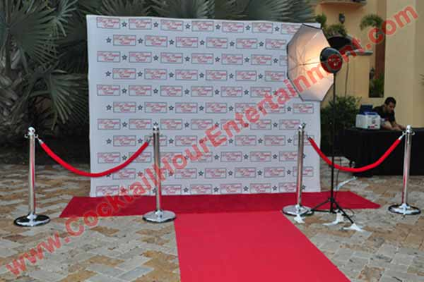 red carpet photos display at home
