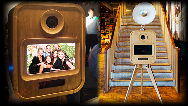 old fashion retro photo booth