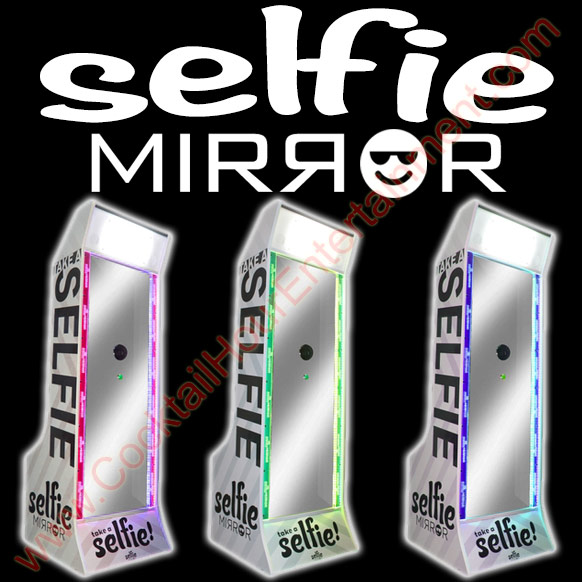 selfie mirror photo booth