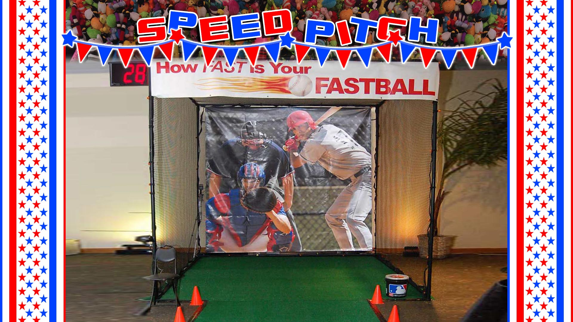 speed pitch carnival game